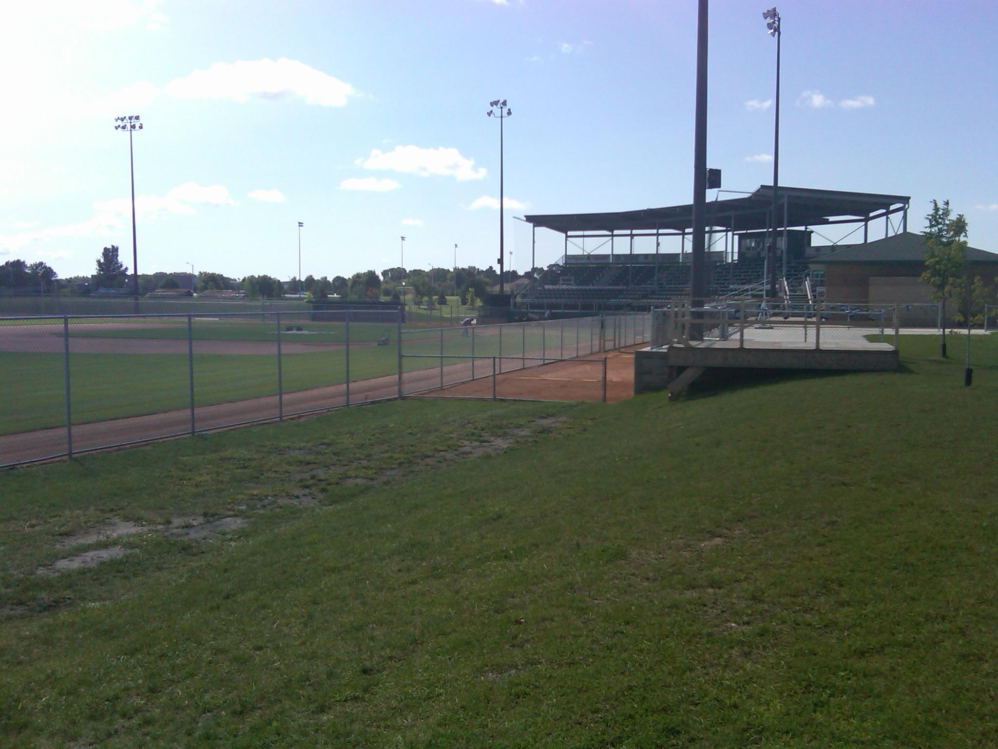 Bill Taunton Stadium in Willmar, MN