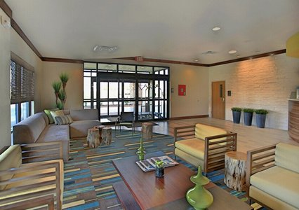 Lobby of Comfort Suites in Bossier City, LA