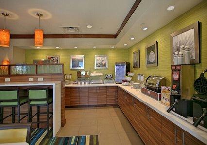 Breakfast area of Comfort Suites in Bossier City, LA