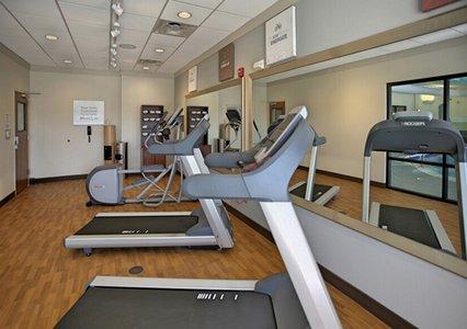 Fitness room in Comfort Suites in Bossier City, LA