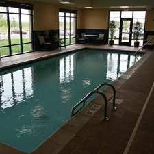 Pool in the Hampton Inn & Suites in Shakopee, MN