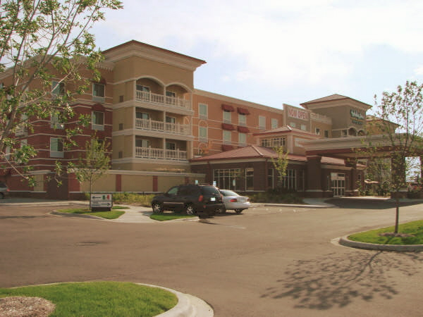 Outside view of the Holiday Inn in Maple Grove, MN