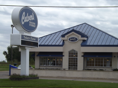 Outside view of Culver's in Willmar, MN