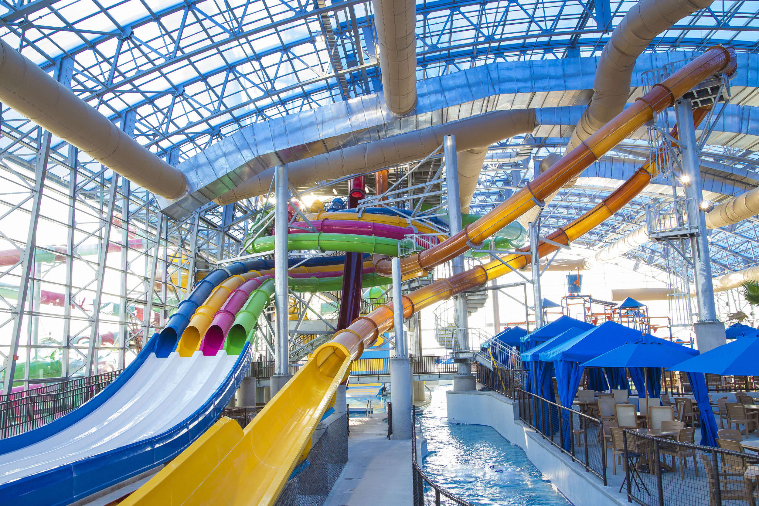 slide tower at Epic Waters