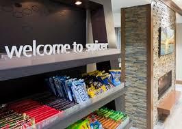 Hotel snack shop in the Hampton Inn Hometown in Spicer, MN
