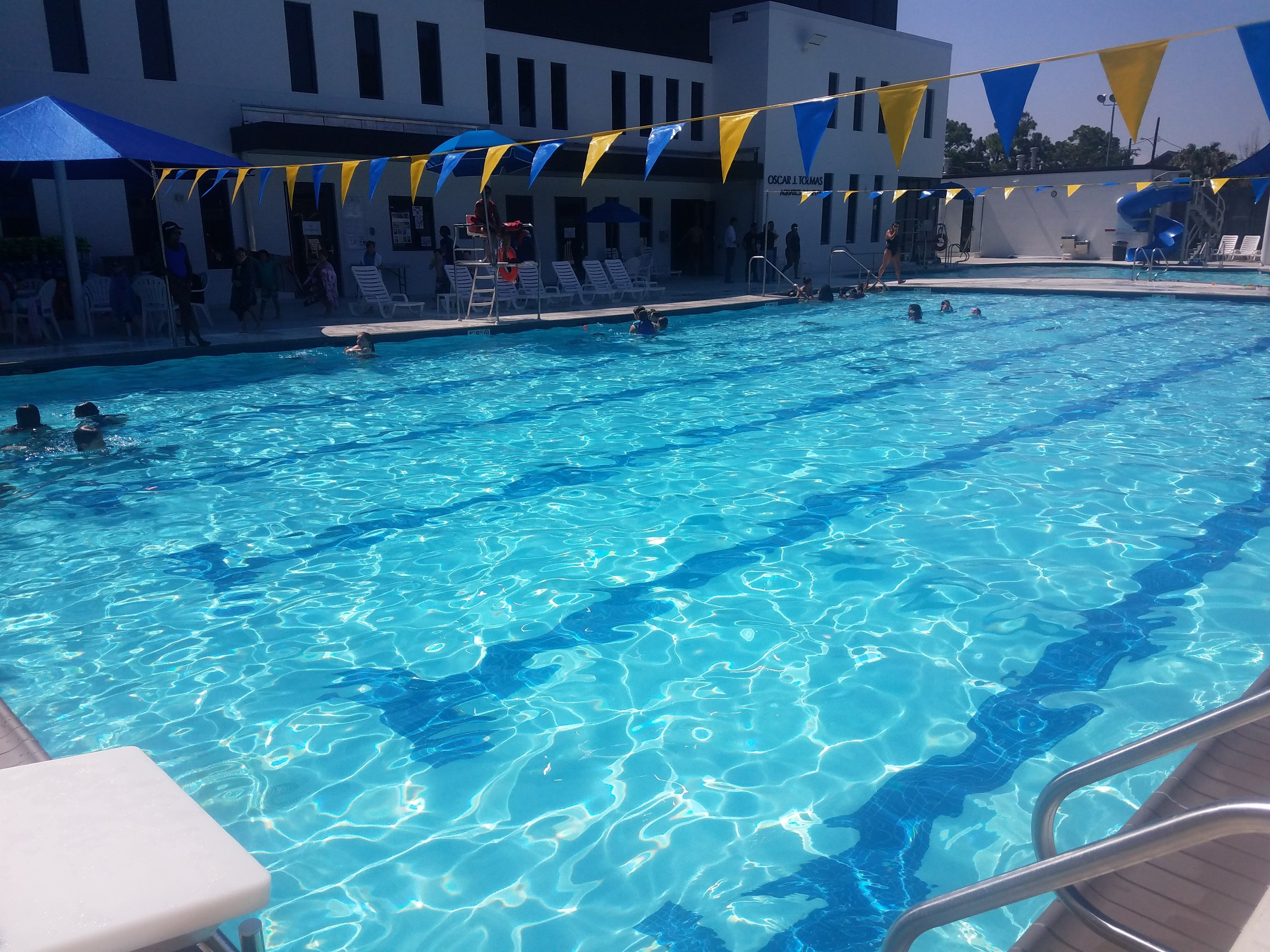lap pool at New Orleans JCC in LA
