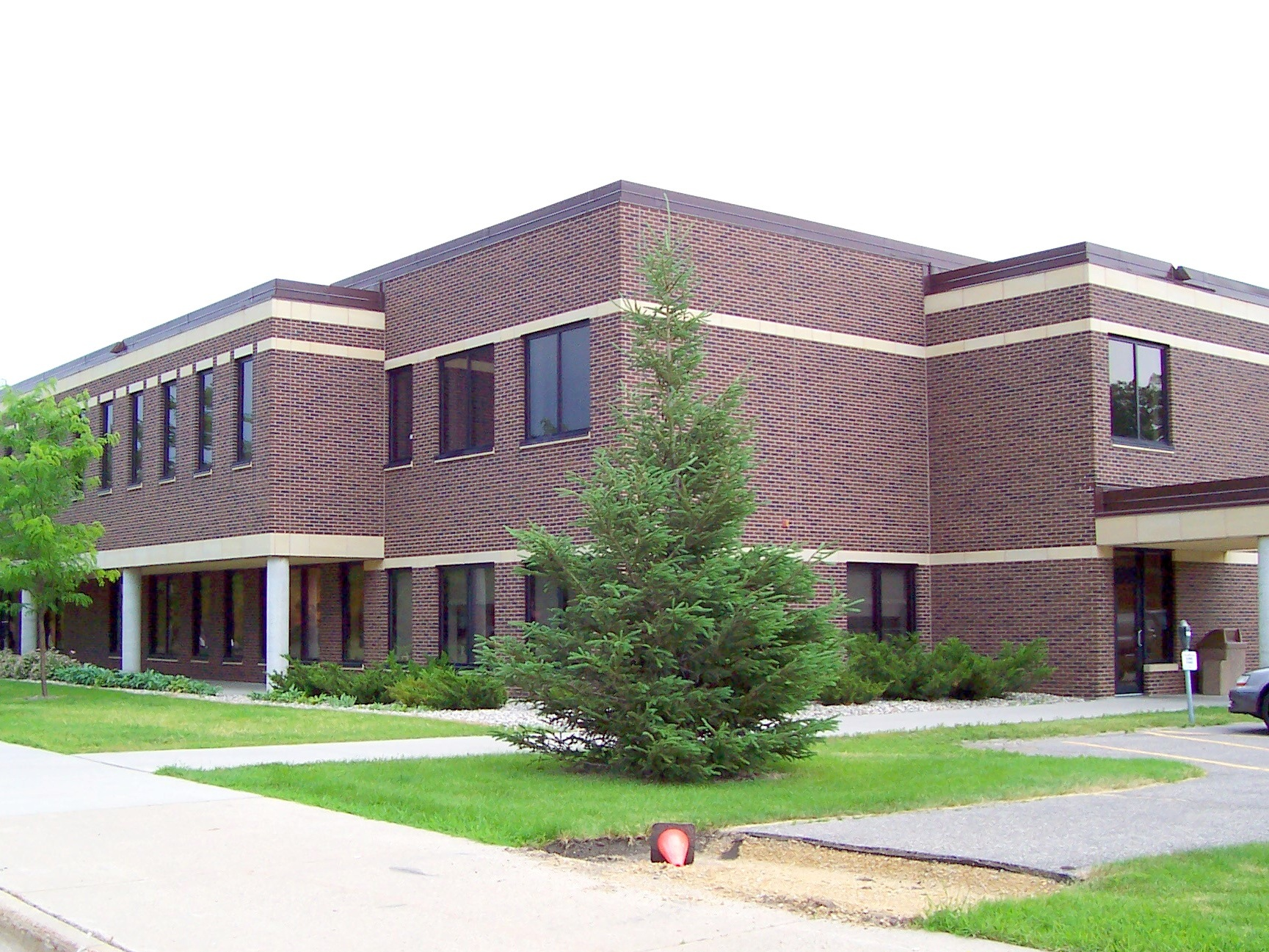 Outside view of an industrial/ municipal example