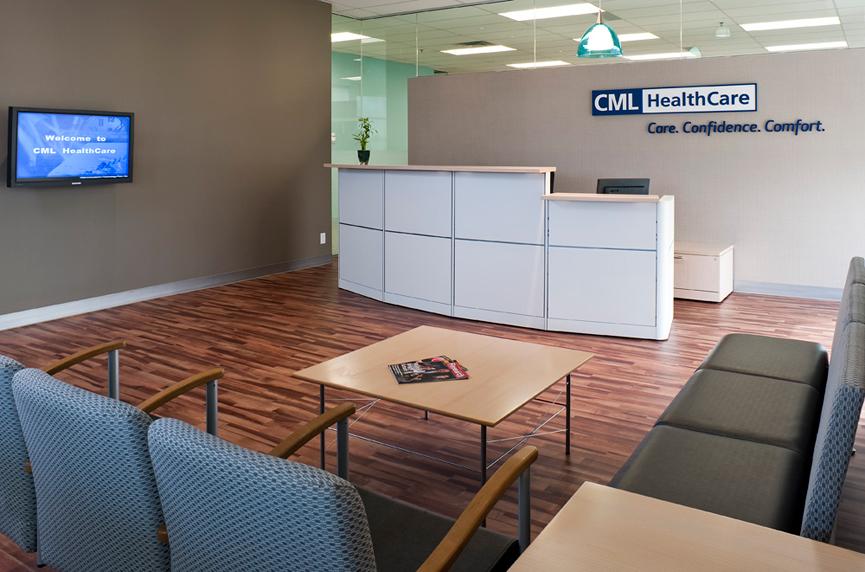 CML Healthcare Headquarters