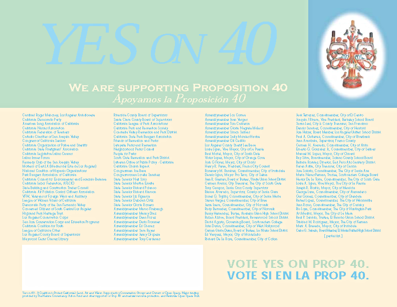 Client: Yes on 40
