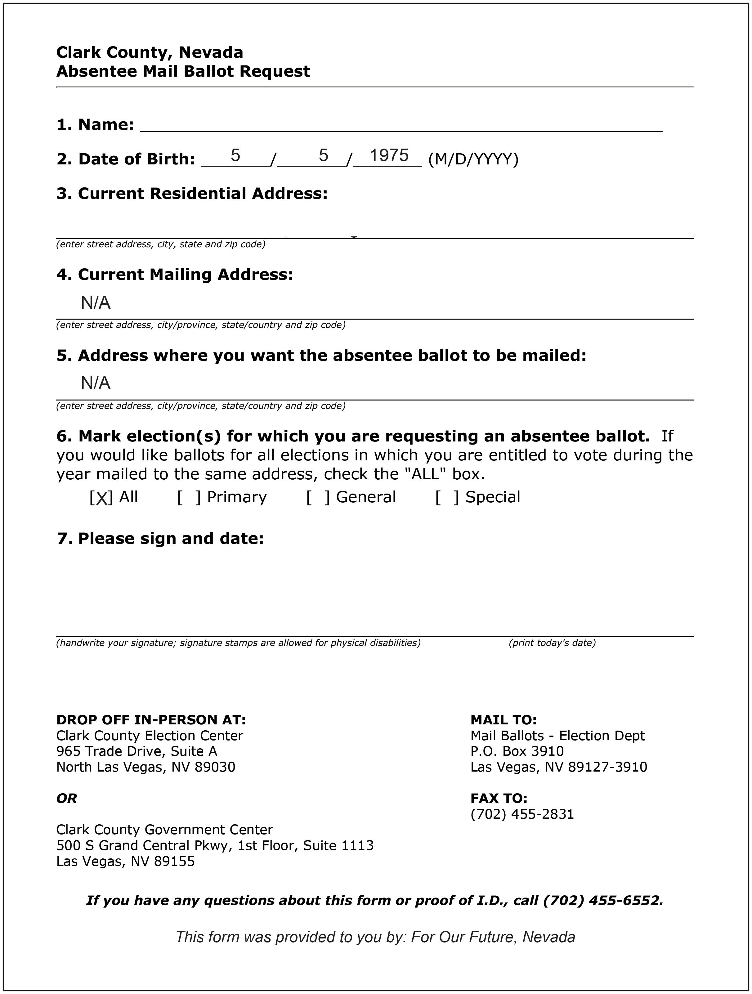 VBM Conversion Application/ FRONTSIDE