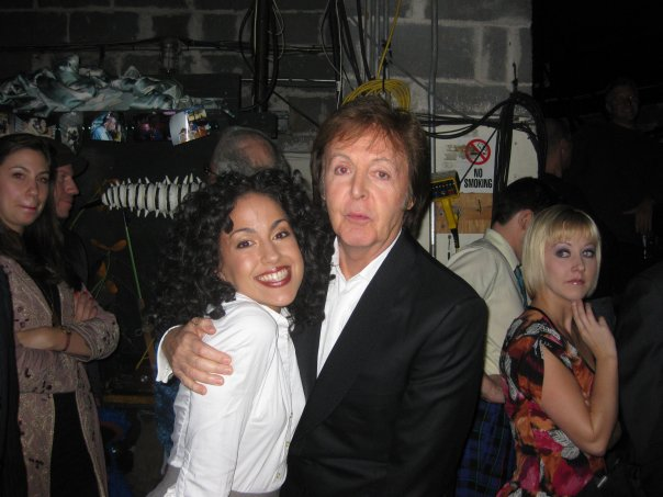 Backstage with Paul McCartney