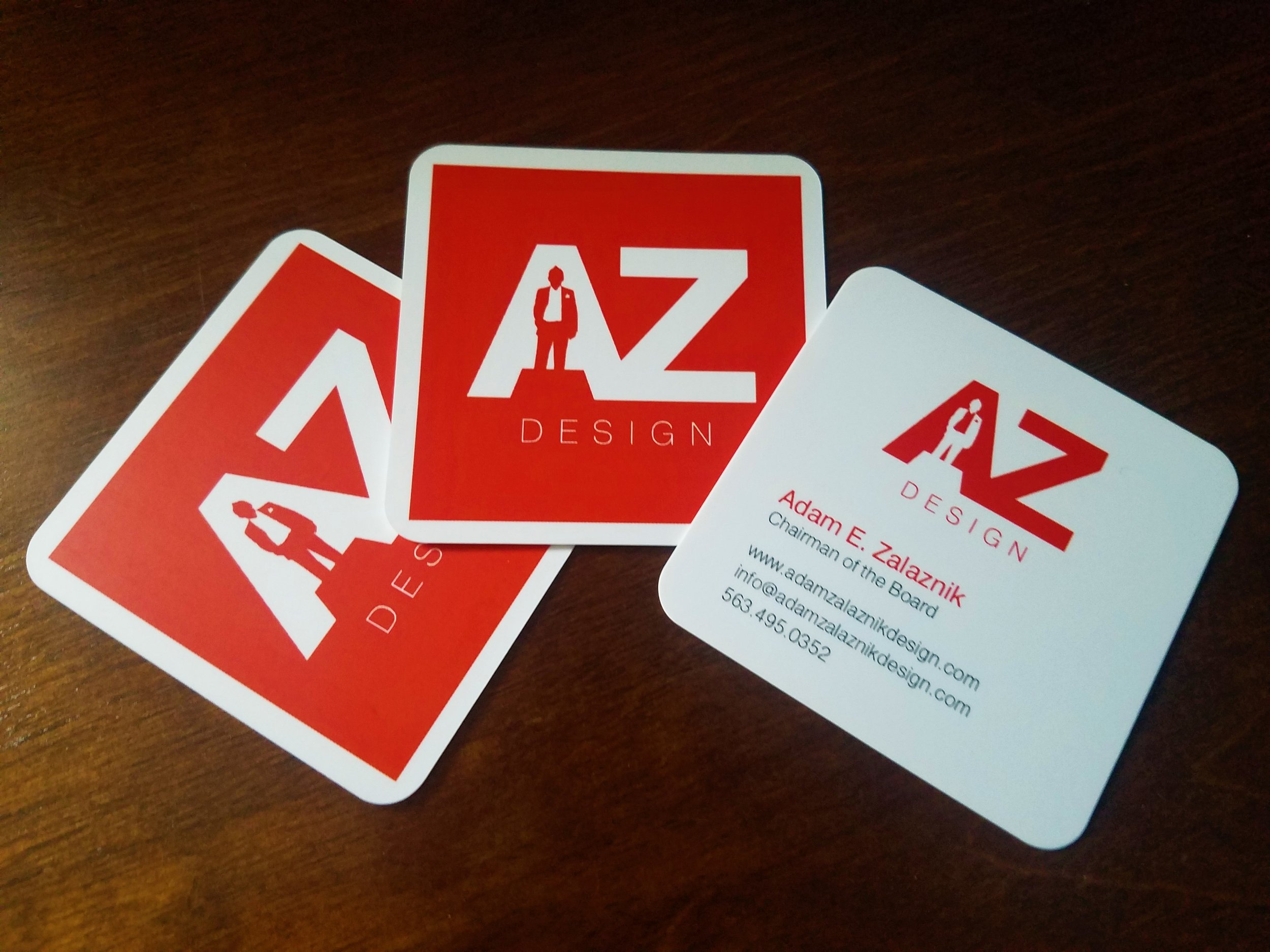 adam zalaznik business card