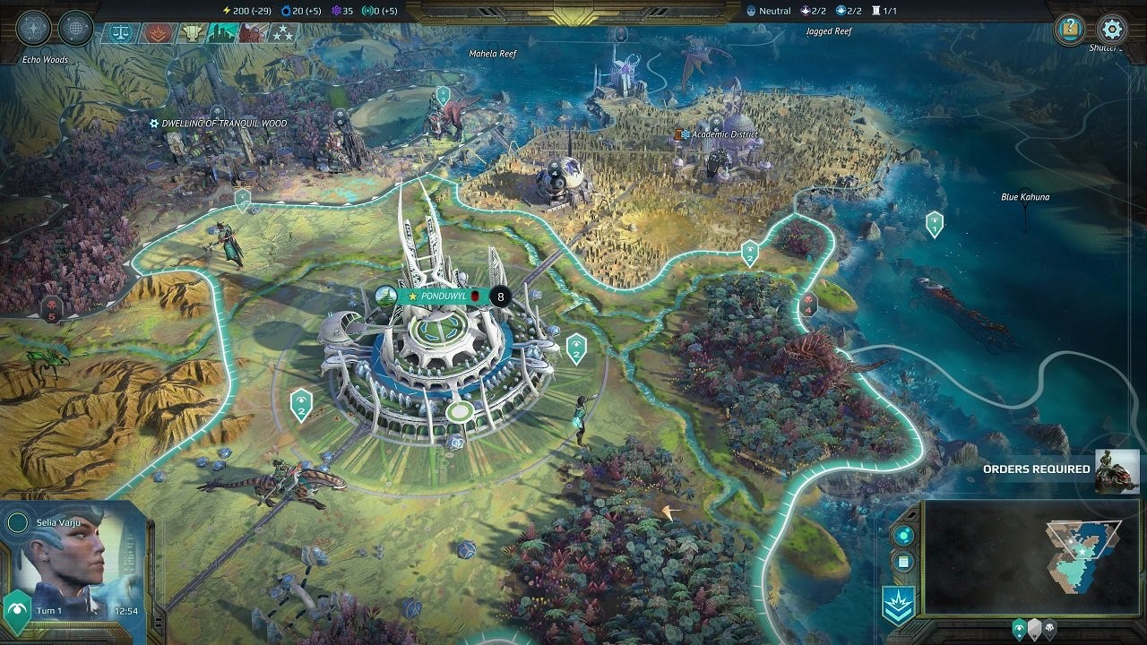 Age of Wonders: Planetfall Hands-On — XONEBROS