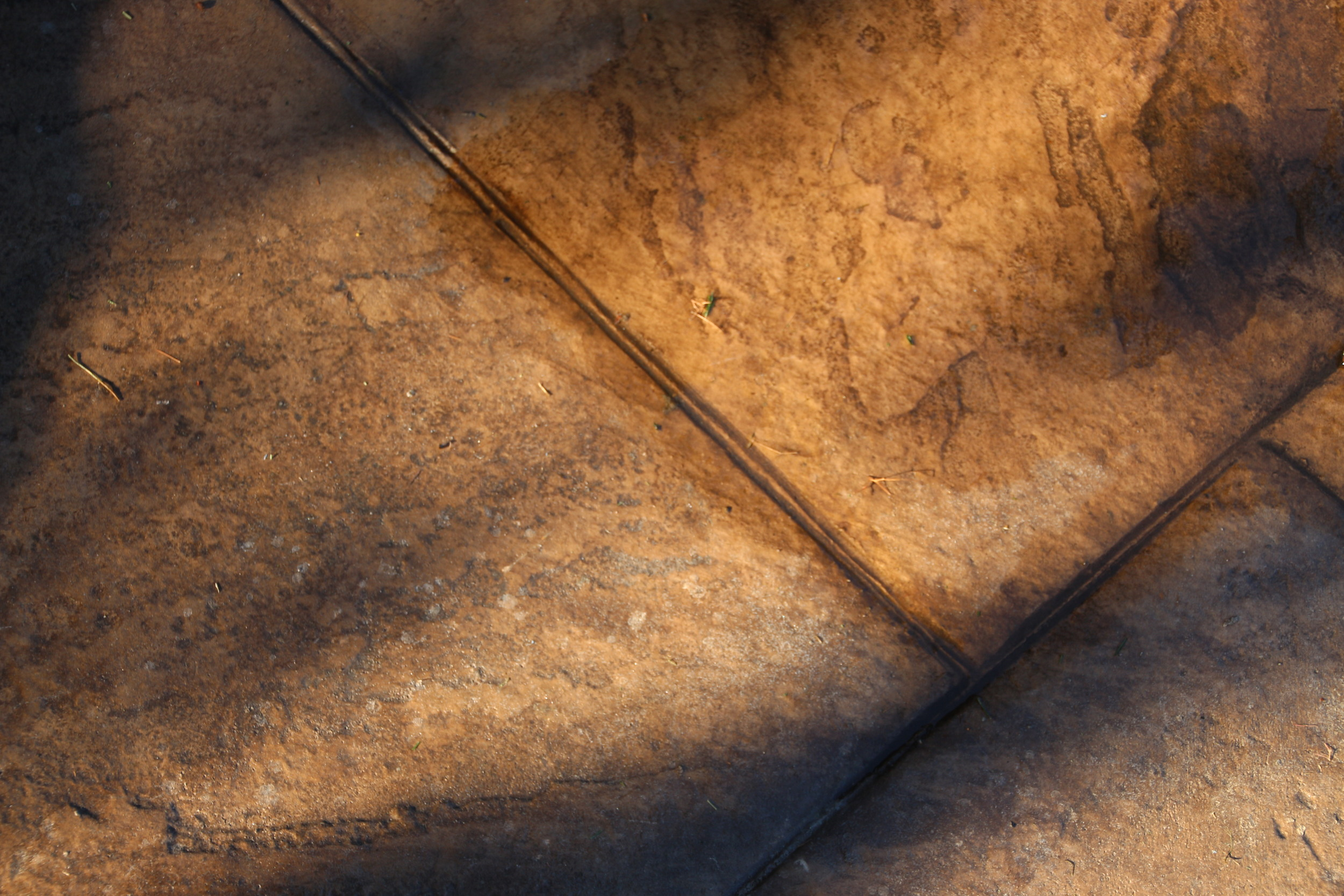 stamped concrete, lines
