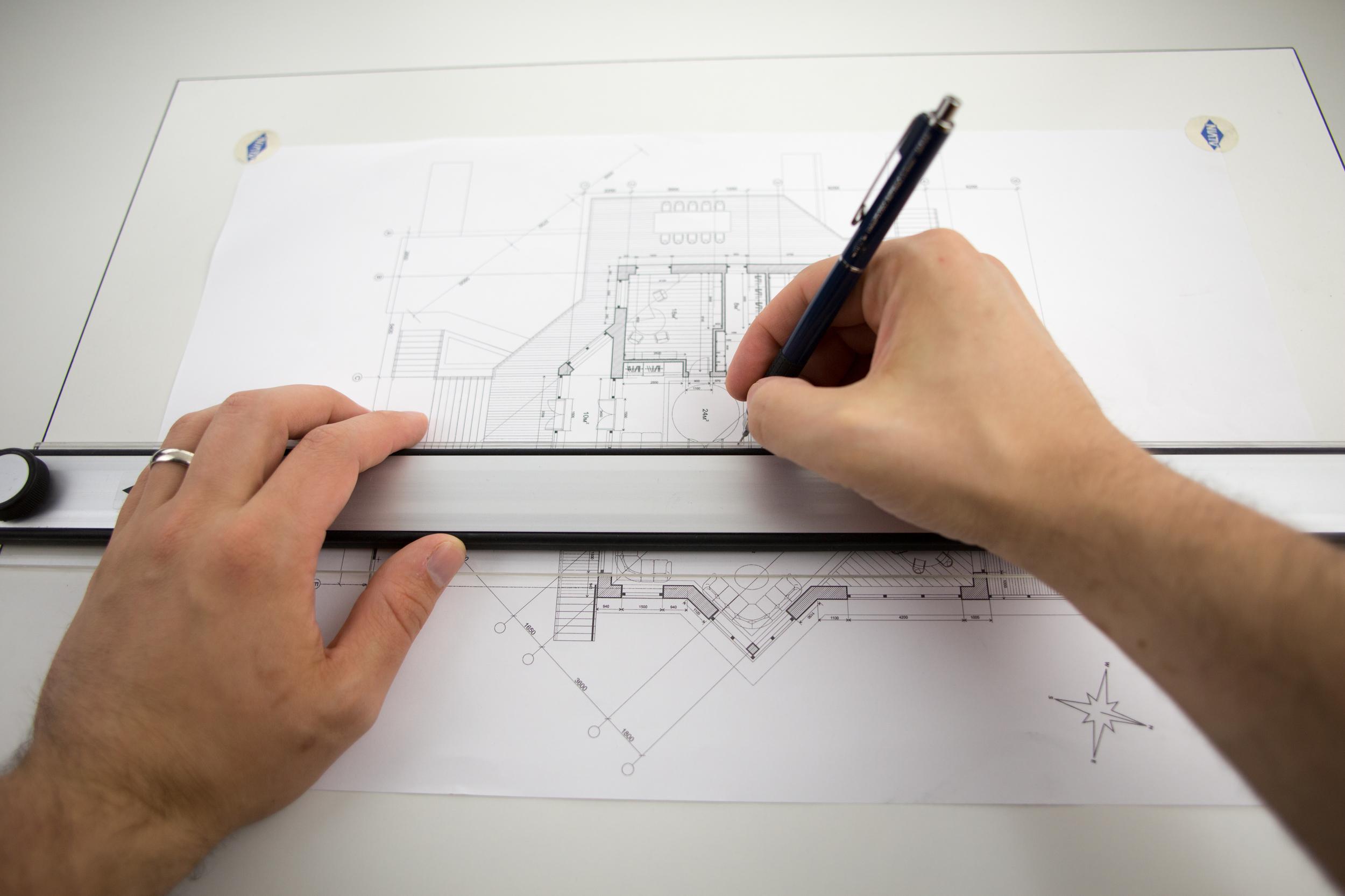 "Alvin® PXB Series Portable Parallel Straightedge Board 18"" x 24"" Item No. PXB24"