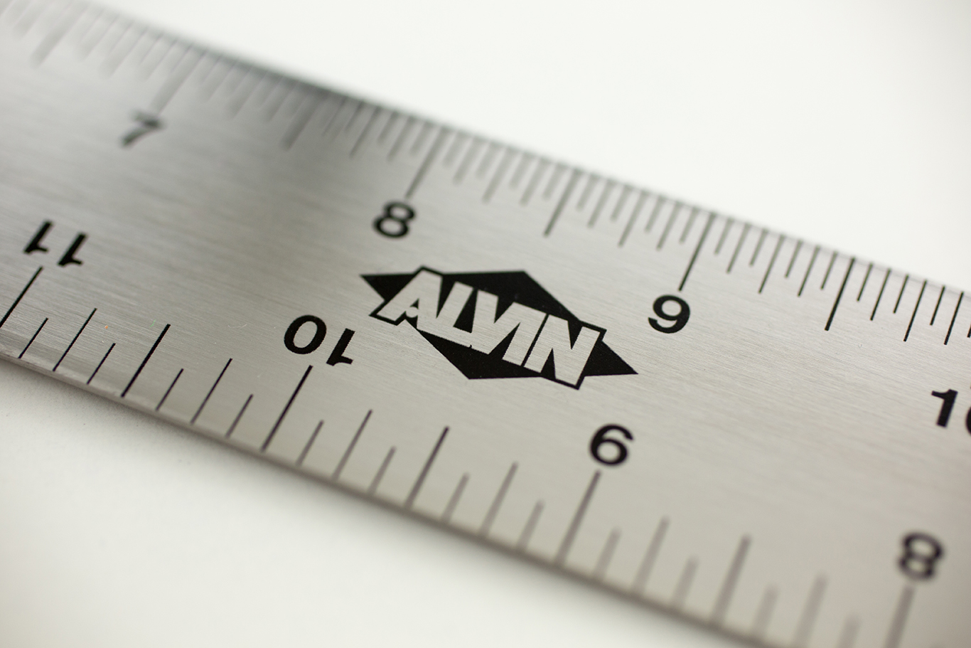 "Alvin® SST Series 18"" Stainless Steel Professional Graduated T-Square Item No. SST18"