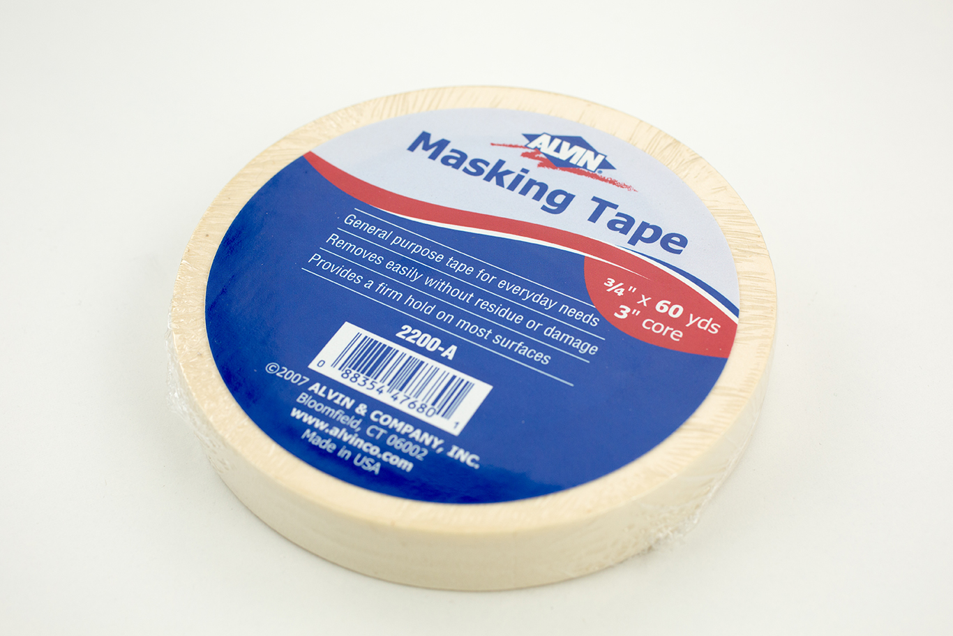 Alvin® General Purpose Masking Tape Item No. 2200