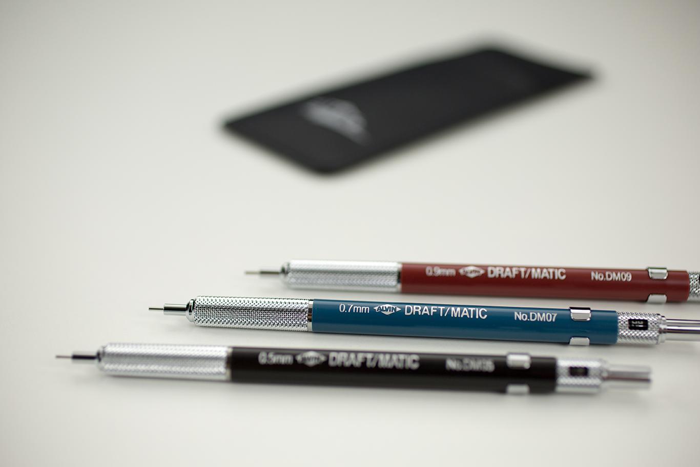 Alvin® Draft-Matic Mechanical Pencil Set of 3 Item No. DM579C