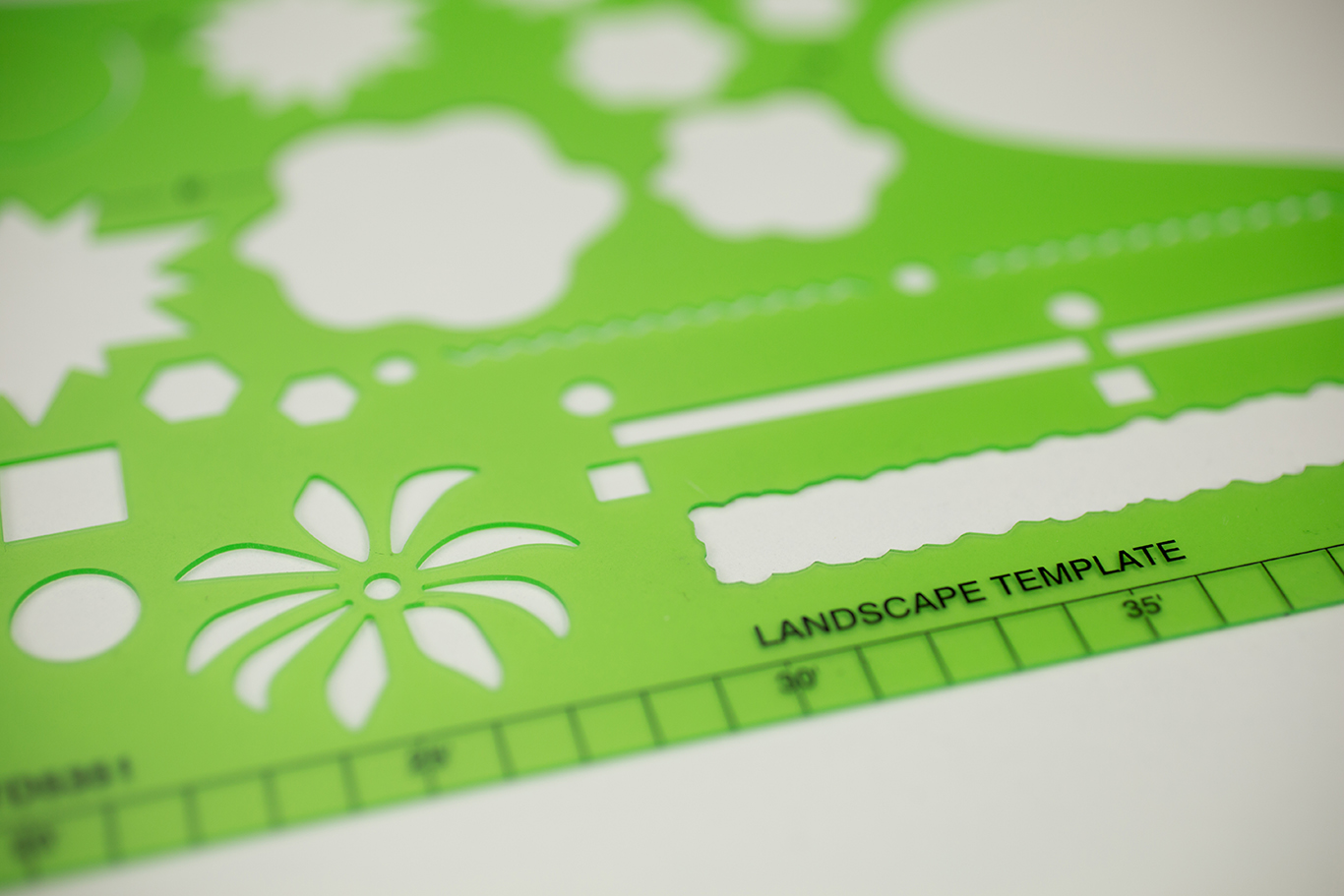 Alvin® Landscape Design Template Item No. TD5361