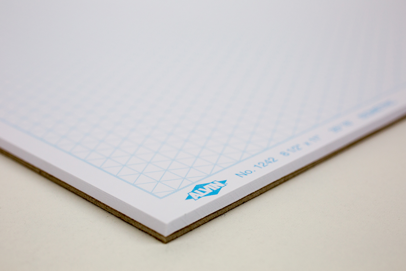 "Alvin® Isometric 30-Sheet Paper Pad 8.5"" x 11"" Item No. 1242-1"