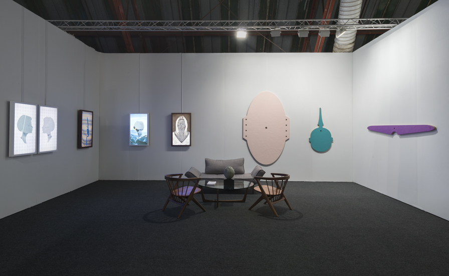 Brian Bress and Michael Rey at the Philip Martin Gallery, Los Angeles