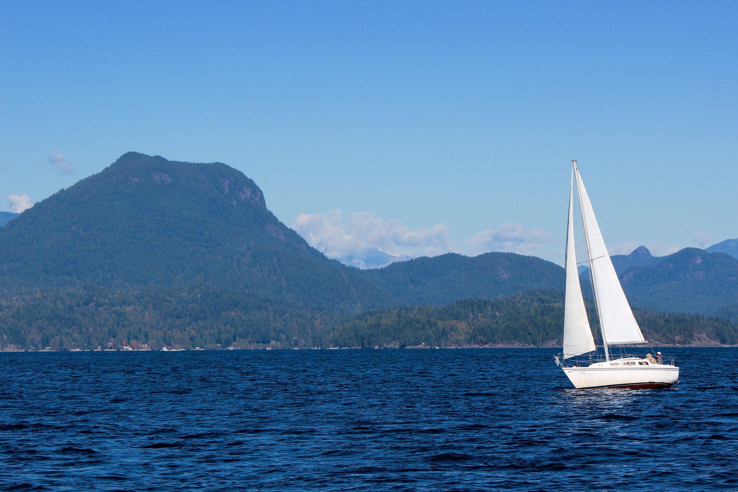 Cruising along the Sunshine Coast