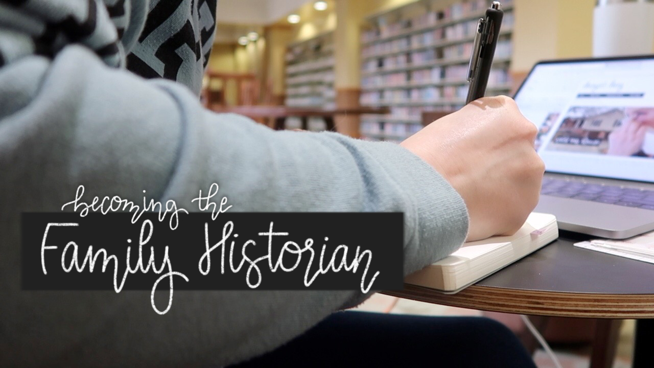becoming the family historian
