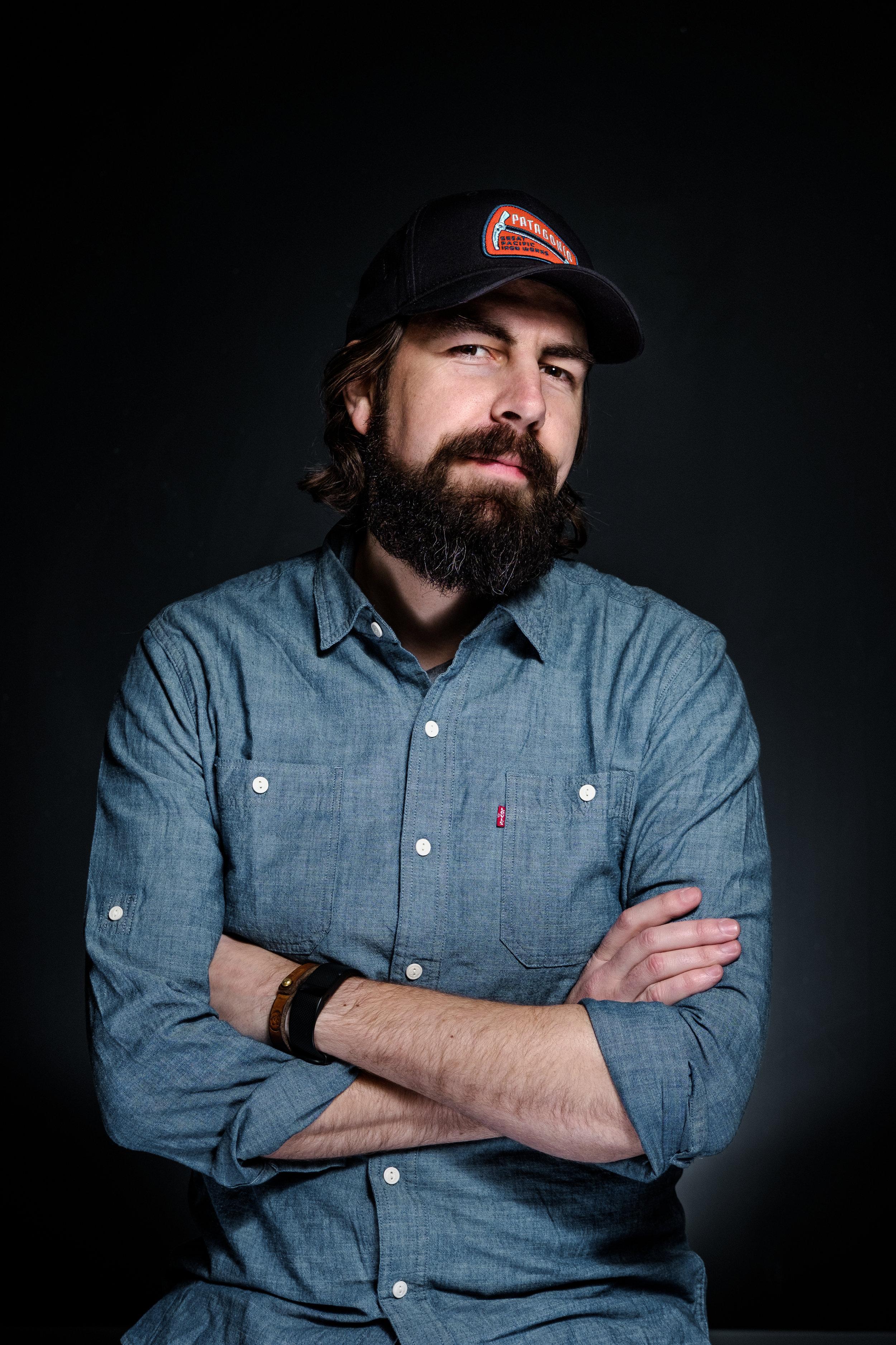 Aaron Campbell,   Creative Director & Owner    Photo: Matthew Sandberg