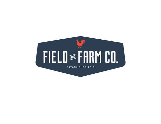 Throw back to one of my favs: The badge version of the logo I did for @fieldandfarmco 👌🏻