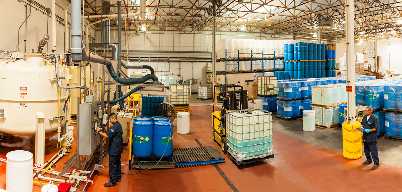 AC Technologies' Facility, Setting the Standard in Beer Line Cleaner Every Step of the Way