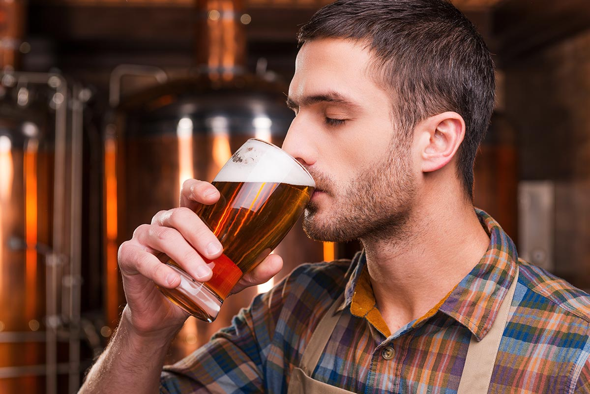 Perfect draft beer taste