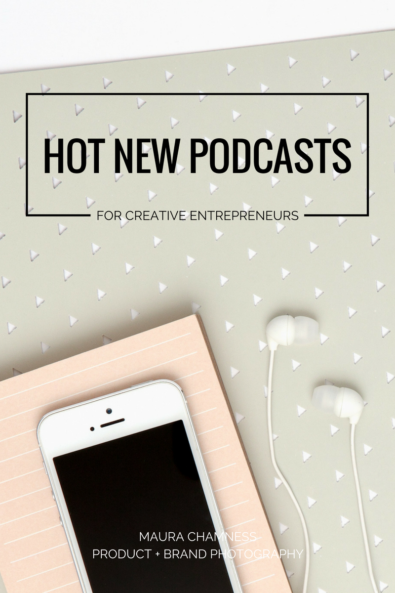 Top 5 Hot New Podcasts for Creatives