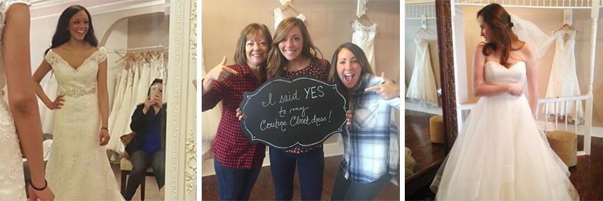 Happy CC Brides that totally had these tips down pat! :)