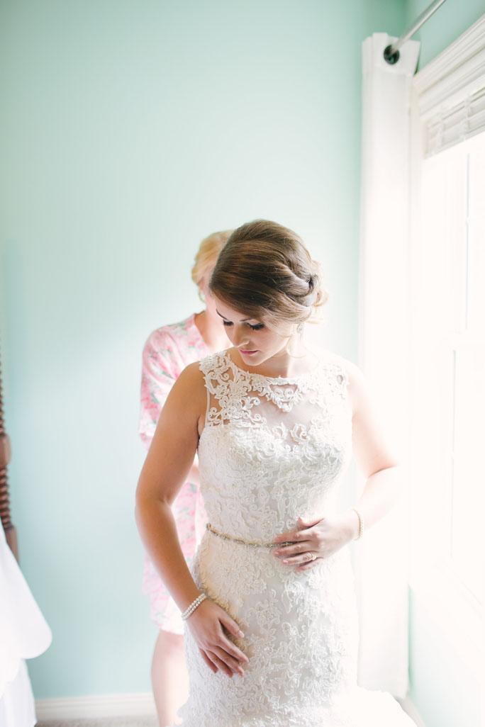 Couture Closet Bride Sara Getting Ready