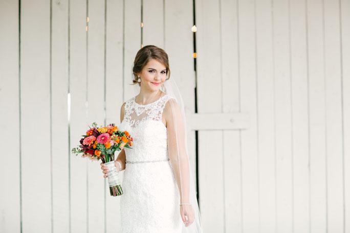 Couture Closet Bride Sarah Flowers