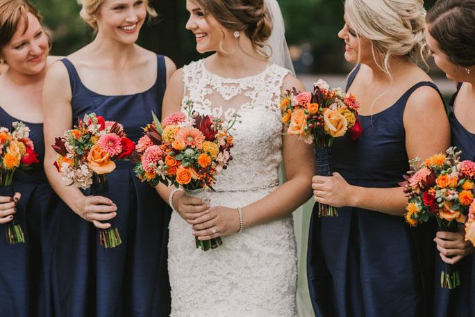 Couture Closet Bride Sarah Maids