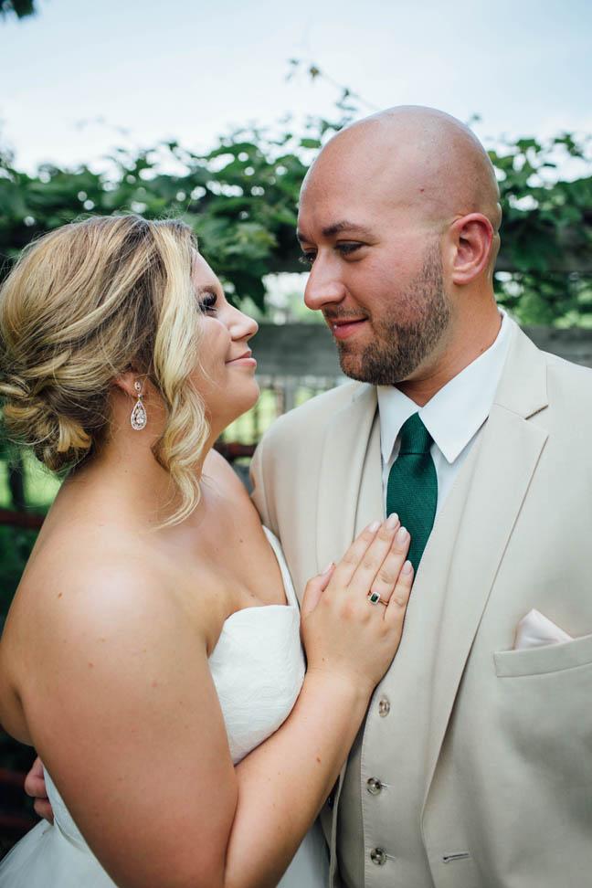 Couture Closet Bridal Boutique Sara Hayley Paige couple