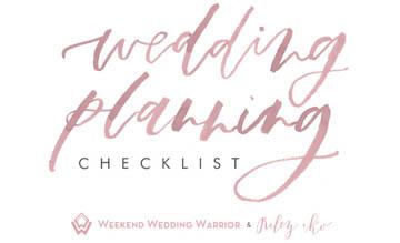 Weekend Wedding Warrior Riley and Ko