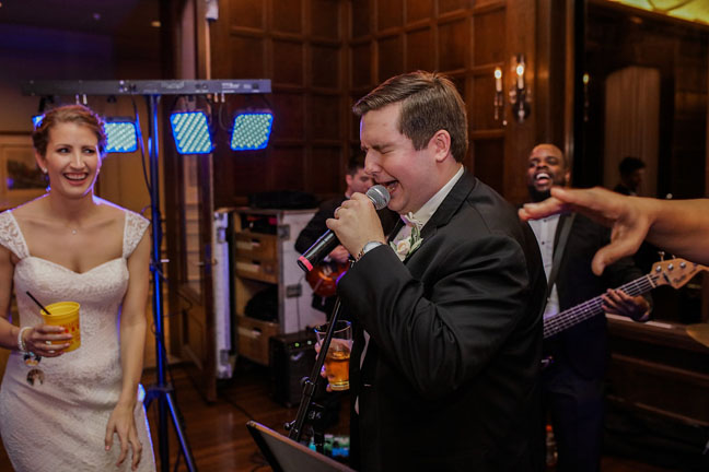 Couture Closet-Annamarie-Kentucky Wedding-Lillian West-Groom Singing.jpg