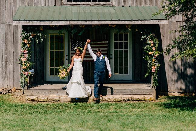 CC Bride Julia | Dress Designer  Blush by Hayley Paige  | Photographer  Claire + Barrett