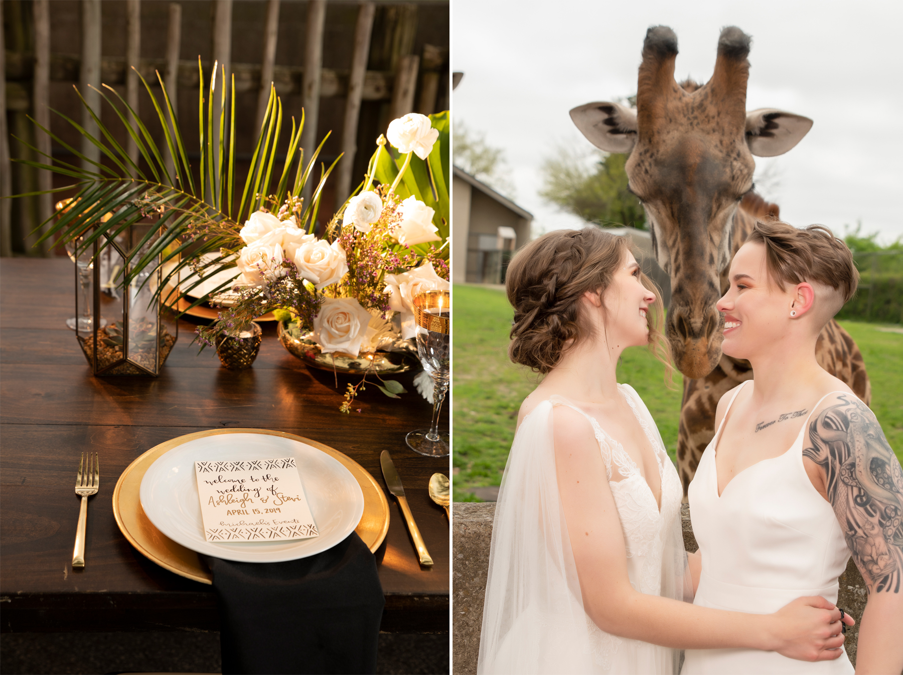 Wedding-Tablescape-Louisville-Zoo-LGBTQ-Wedding-Couture-Closet