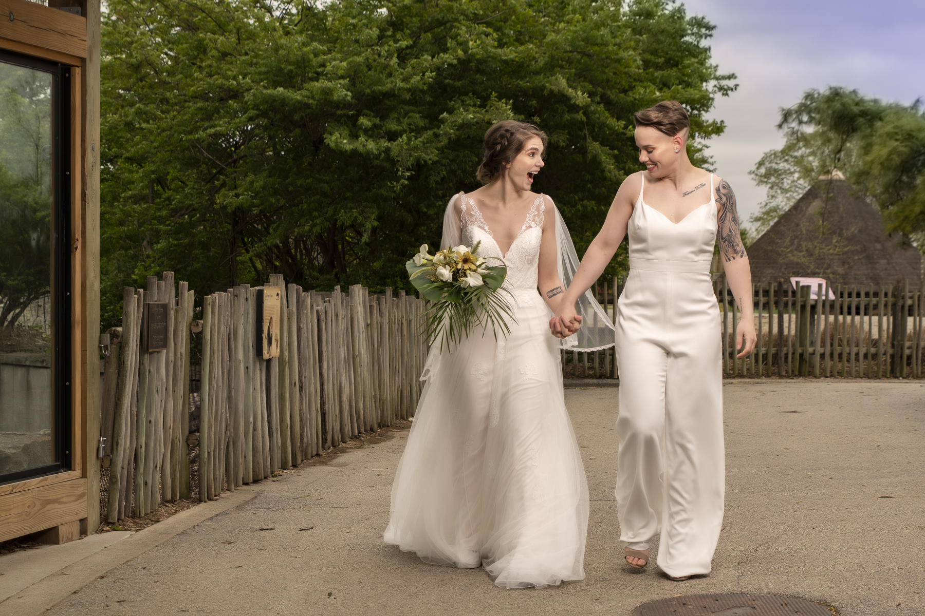 Just-Married-Louisville-Zoo-LGBTQ-Wedding