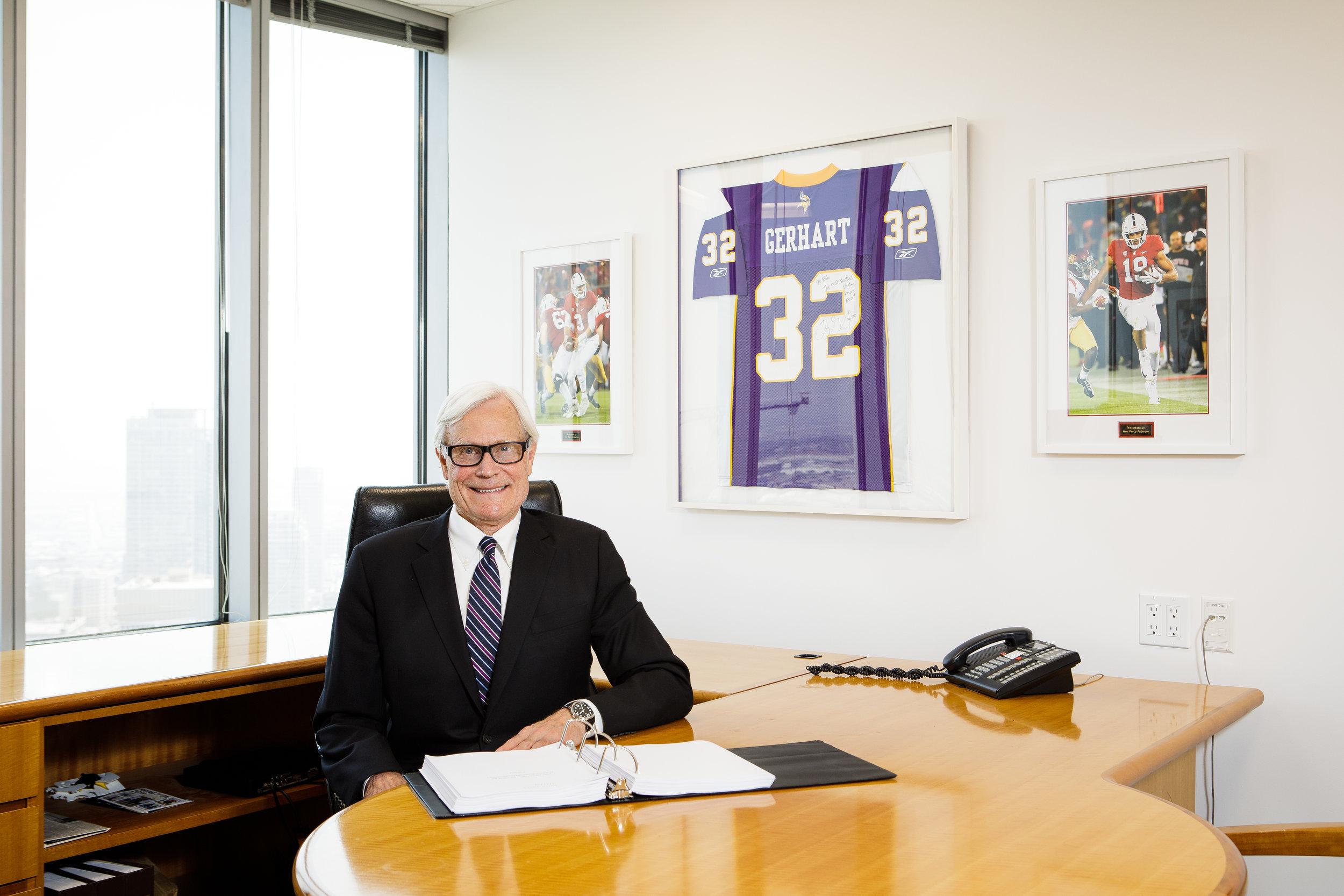 Bob In His Office