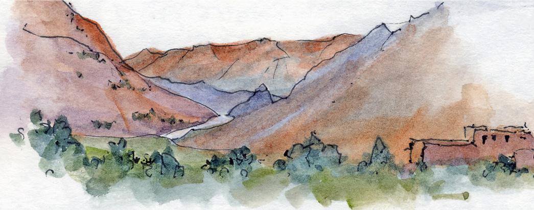 Mid Atlas Mountains