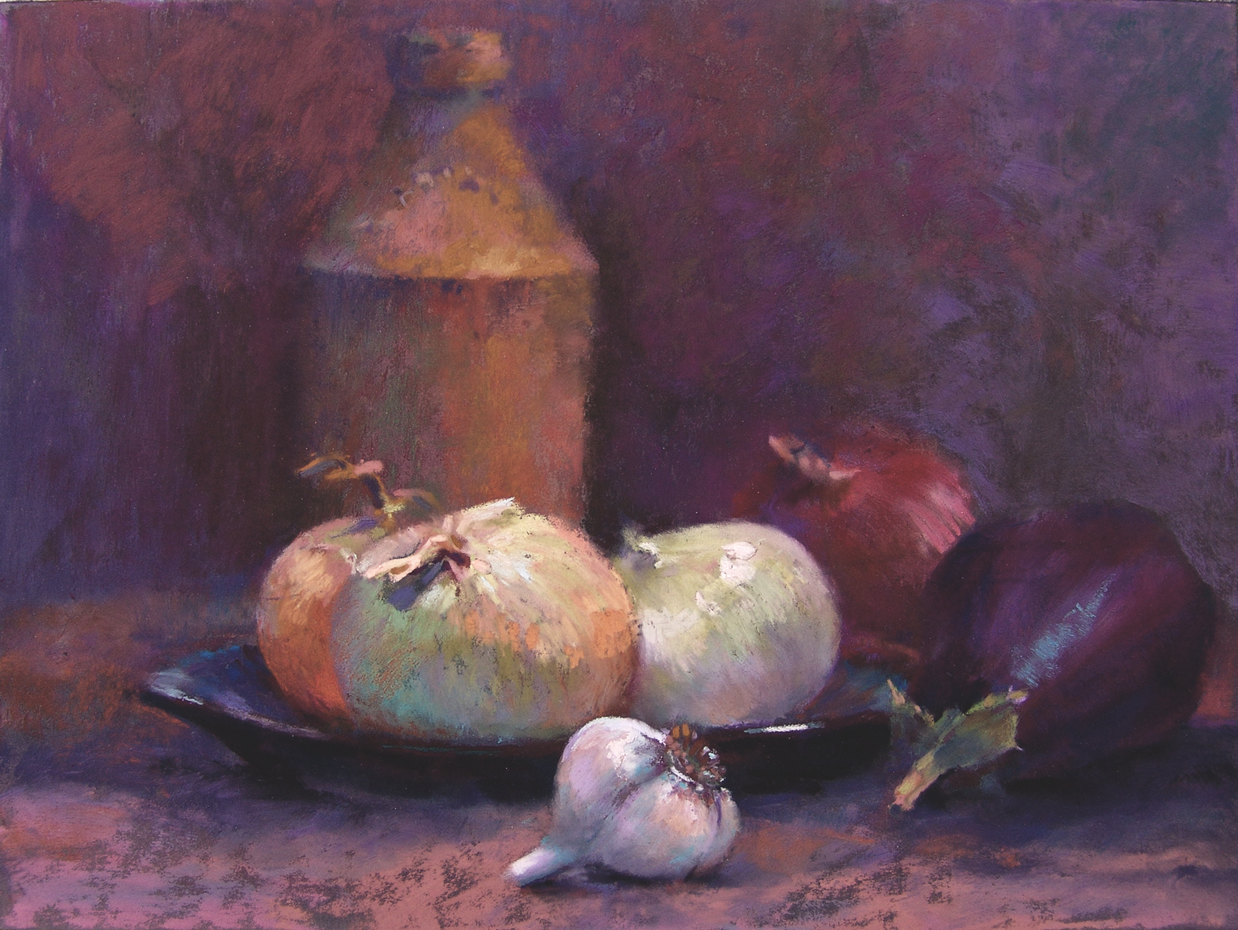 Eggplant with Company