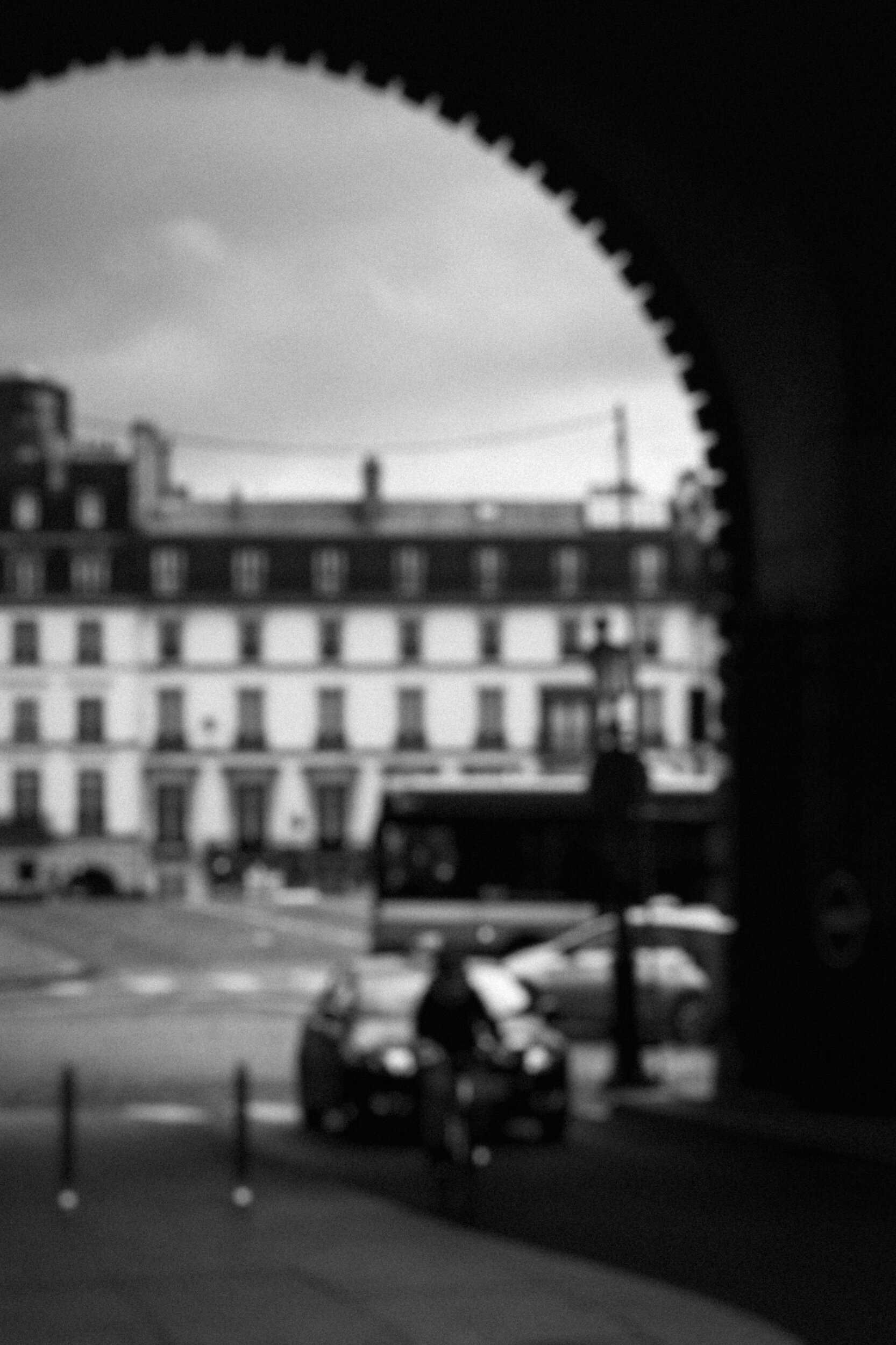 We walked by hours without knowing our final destination.  And then now I know our destination was perfectly defined by our heart.  Without being conscious, we were designing our past, our present and our future.  Paris, 2017.