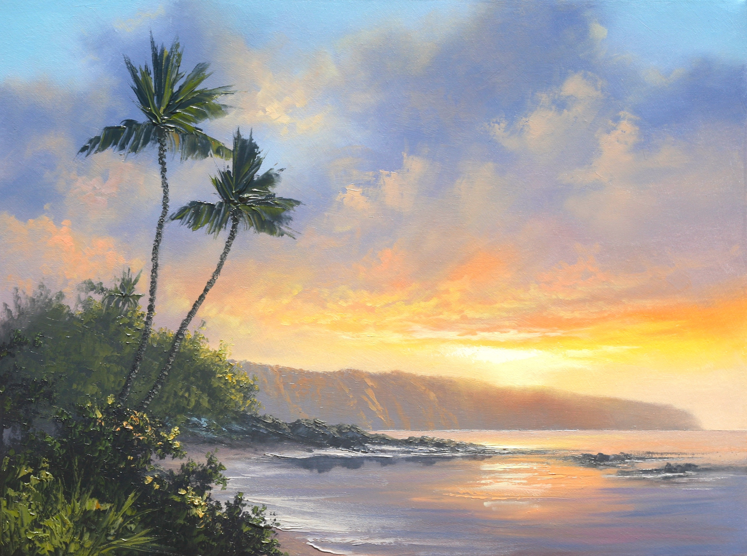 Sunlit Skies, North Shore