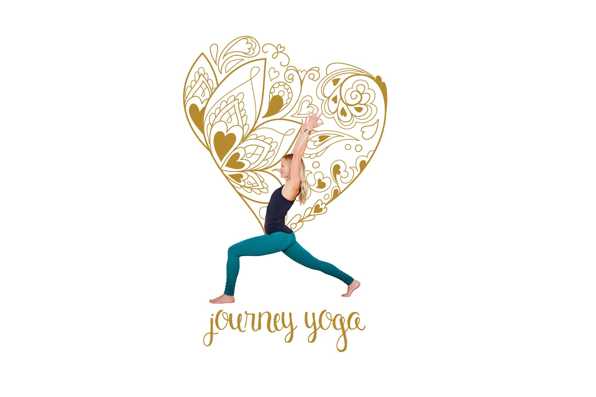 V2_White and Gold - Journey Yoga Poster.jpg