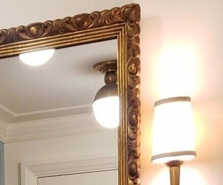 Custom Mirrors - Choose from hundreds of moulding options and have a mirror made to any size.
