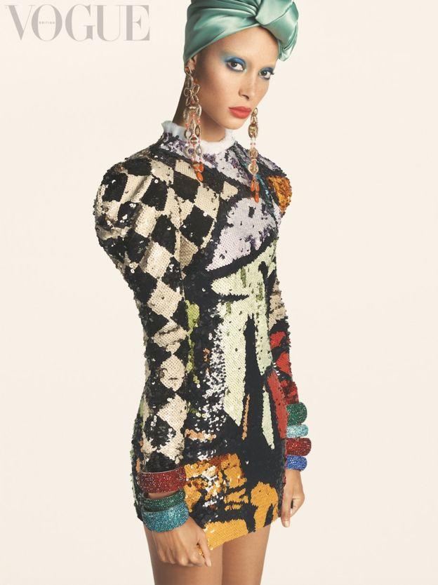 Image courtesy of British Vogue; Photographer: Steven Meisel/Vogue